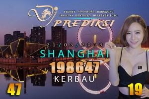 Prediksi Togel SHANGHAI 21 Maret 2019 Hari Kamis