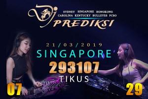 Prediksi Togel SINGAPORE 21 Maret 2019 Hari Kamis