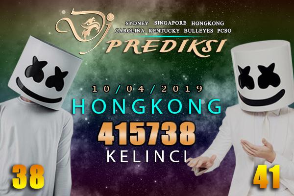 Prediksi Togel HONGKONG 10 April 2019 Hari Rabu
