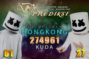 Prediksi Togel HONGKONG 14 April 2019 Hari Minggu