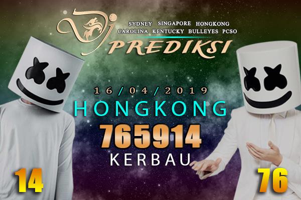 Prediksi Togel HONGKONG 16 April 2019 Hari Selasa