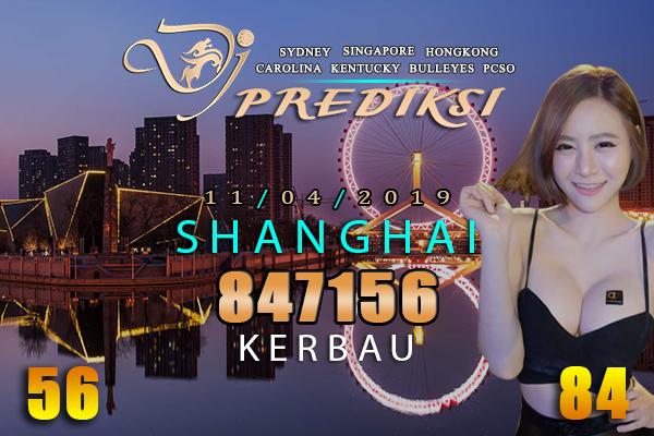 Prediksi Togel SHANGHAI 11 April 2019 Hari Kamis