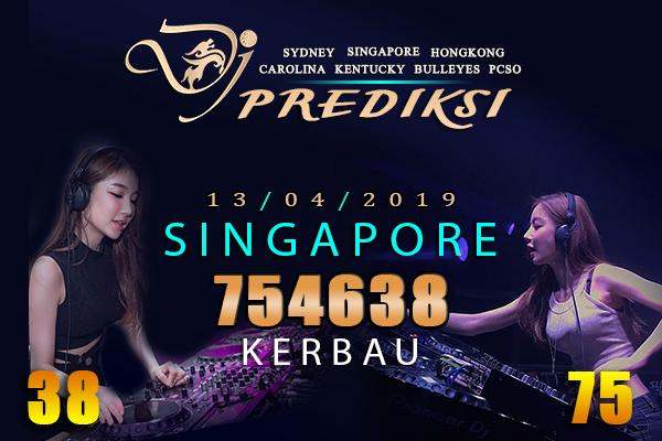 Prediksi Togel SINGAPORE 13 April 2019 Hari Sabtu