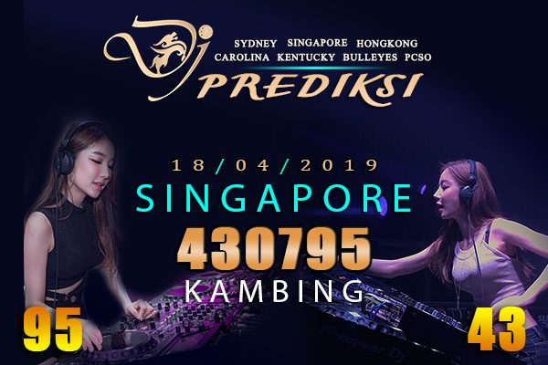 Perkiraan lotere SINGAPURA 18 April 2019 Kamis
