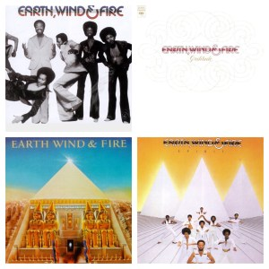 These four albums were Earth, Wind & Fire's biggest, with each selling more than 2 million copies.