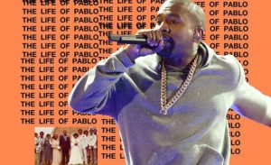 Kanye West's The Life of Pablo is the #1 album this week.