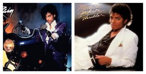 MJ's Thriller and Prince's Purple Rain ruled the charts in 1984