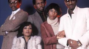 Chic's classic lineup (circa 1979), from left: Bernard Edwards, Luci Martin, Nile Rodgers, Alfa Anderson and Tony Thompson