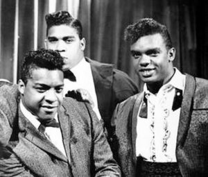 The earlier version of the Isley Brothers, with oldest brothers O'Kelly, Rudolph and lead singer Ronald.