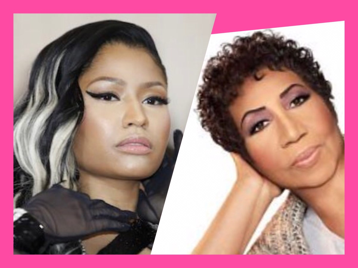 This is Not Fake News: Nicki Minaj Ties Aretha Franklin...for Most Hot 100 Chart Singles Among Women. And Here's How It Happened!