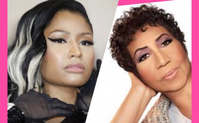 This is Not Fake News: Nicki Minaj Ties Aretha Franklin…for Most Hot 100 Chart Singles Among Women. And Here's How It Happened!