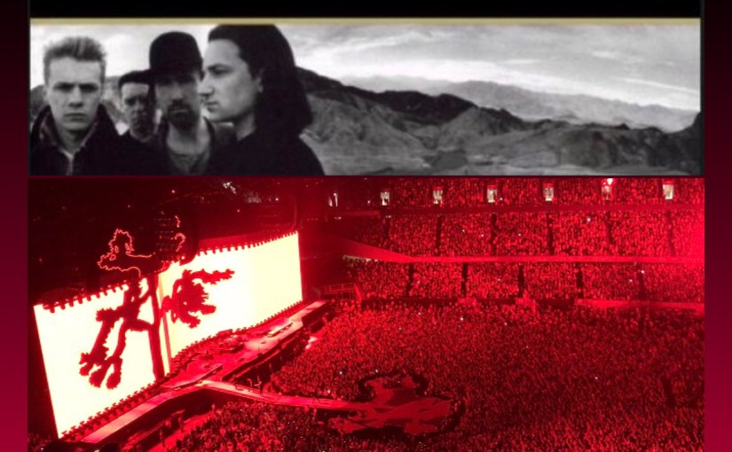 U2 Delivers Classics – and Tough Messages to America – at its Joshua Tree 30th Anniversary Concert in Chicago