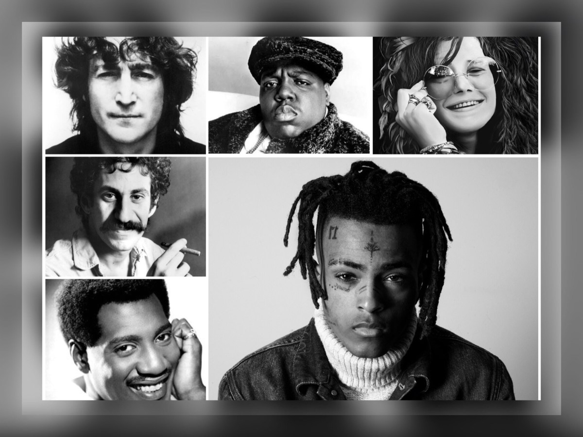 Sad! - XXXTentacion Joins Short List That Includes Biggie, Lennon, Croce, Joplin and Otis