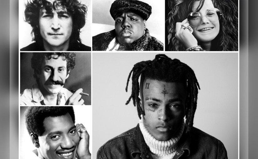 Sad! – XXXTentacion Joins Short List That Includes Biggie, Lennon, Croce, Joplin and Otis