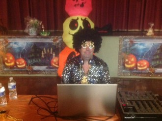 DJ Rob as Elvis