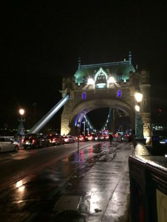 On Tower Bridge