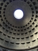 The ceiling of the Pantheon, one of my favorites.