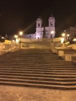 Spanish steps at night, thanks random Uber driver.