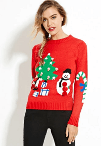 Forever-21-Holiday-Graphic-Sweater
