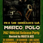Marco Polo – PA2: The Director's Cut OFFICIAL RELEASE PARTY