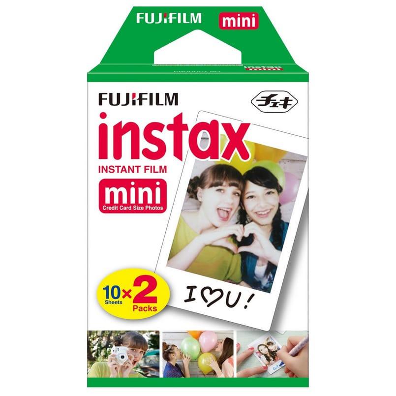 Fujifilm Instax Mini Film Twin Pack White