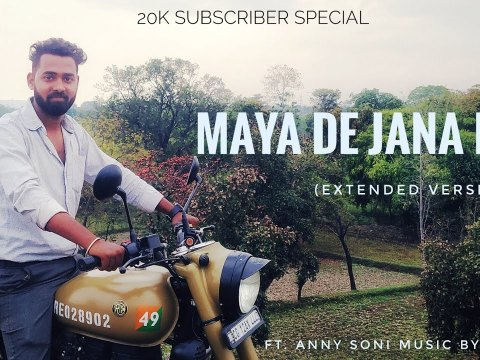 Extended Mix - Maya De Jana Re Cg Love Song | Anny Soni x DJ A2L