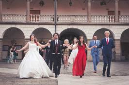 Polonez - wesele polsko-brytyjskie - Zamek Królewski w Niepołomicach