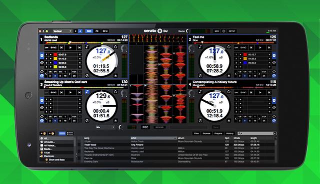 Brand New Serato DJ 3.0 Update: Android Nexus, Real Vinyl