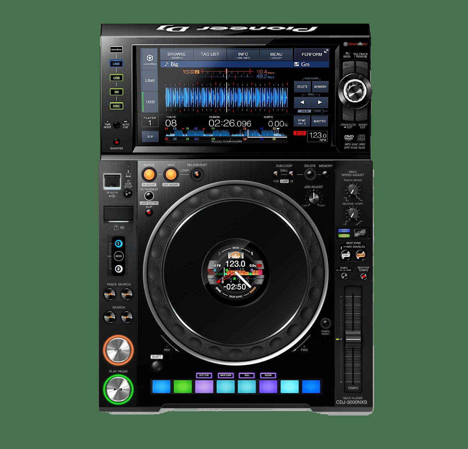 Future DJ Gear Concepts: Pioneer DJ CDJ-3000 - DJ TechTools