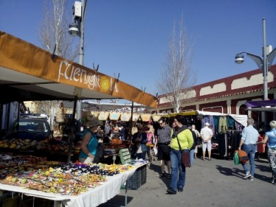 Tuesday market in Fuengirola