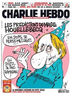 Charlie Hebdo Houellebecq Cover