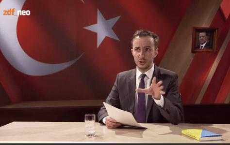 Böhmermann zeigt am Beispiel Erdogan was Meinungsfreiheit ist