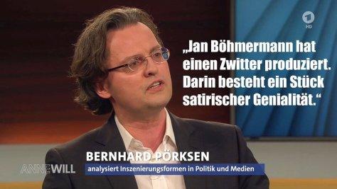 Prof. Bernhard Pörksen: Böhmermann hat einen Zwitter produziert