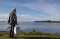 Fisherman Sean Burke at Wallaga Lake, a part of the Batemans Marine Park ©Danielle Ryan - Bluebottle Films