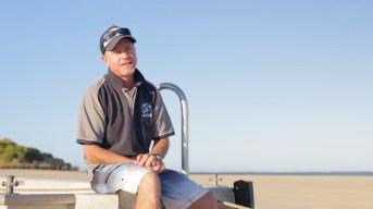 Manta ray expert, Frazer McGregor - screen shot ©James Sherwood - Bluebottle Films