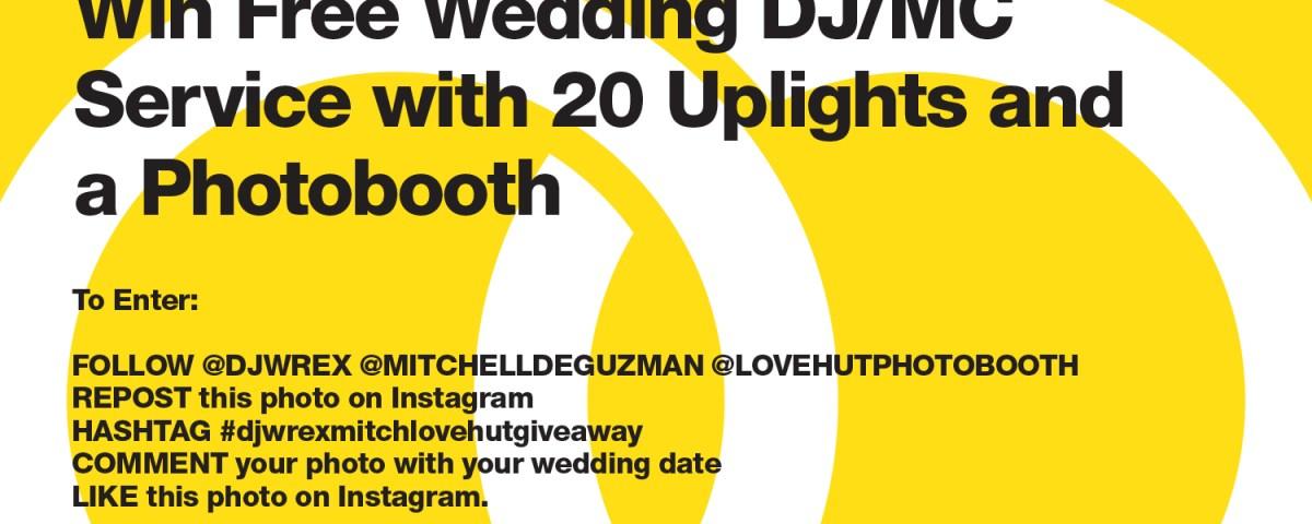 DJ Wrex x Mitchell De Guzman x Lovehut Giveaway