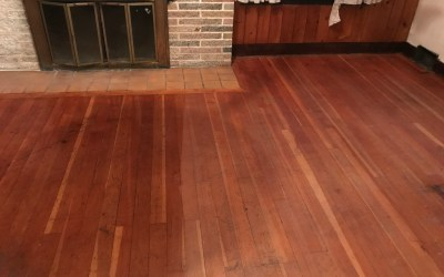 How to Clean Unsealed (or very old!) Hardwood Floors