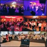 Dja na mednarodni poroki, nočno dogajanje in nastop Magnifico