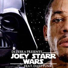 Pochette Joey Starr wars - DJ Zebra