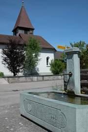 Wasser Dorfbrunnen 20151030