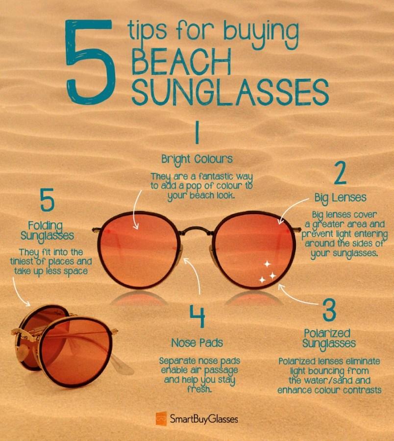697f96f7bd38 Solbriller til brug på stranden – vores bedste tip