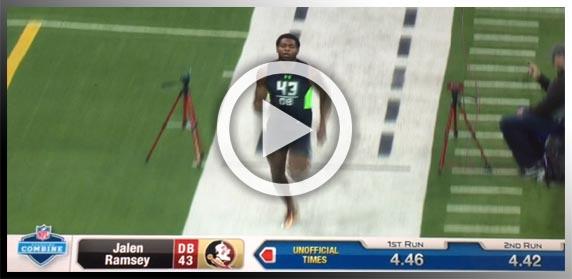 Sportspeed Jalen Ramsey NFL Draft