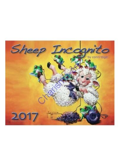 2017 Sheep Incognito calendar #sheepfling