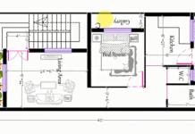 18x40 house plan