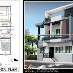 30x40 double floor house plan and design