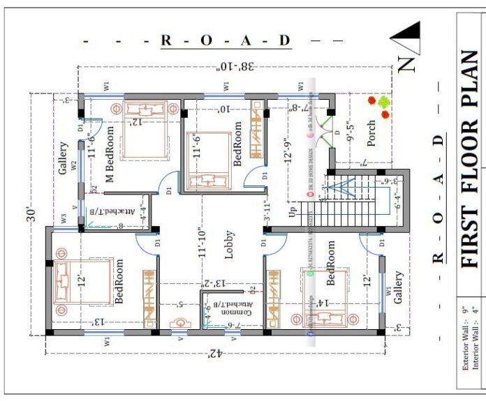 1200 sq ft house plan
