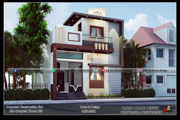 800 sq ft house design indian style