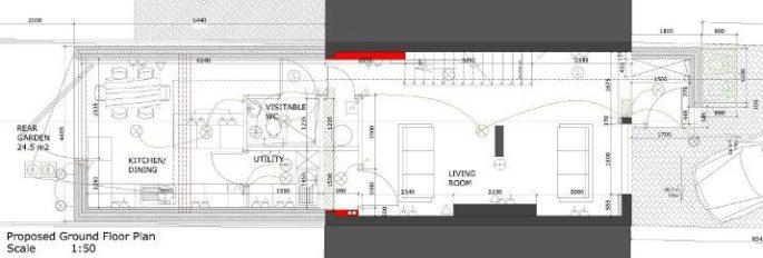 Ground Floor Plan Complete