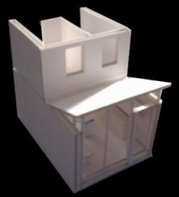 Model Insert Showing New Construction
