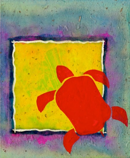 W RED TURTLE YELLOW SQUARE 1_2